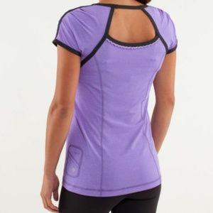 Lululemon Run Team Spirit Tech Short Sleeve Top